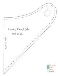 Easy Bandana Drool Bib Tutorial | Dirty Diaper Laundry