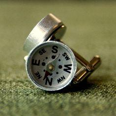 Compass Cufflinks $20