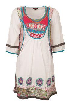 Crochet Bib Patchwork Dress
