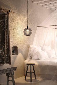 San Giorgio Hotel, Mykonos, 2012 by by Michael Schickinger #architecture #greece #mykonos #interiors #design #row #wood