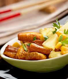 Kurczak curry z ananasem #lidl #przepis #kurczak #curry #annanas