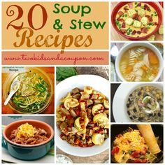 Soups and Stews Reci