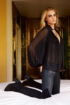 Get the Look: Cara Delevingne For Topshop