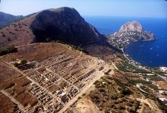 Archeological Site of Solunto, near Palermo - Italy