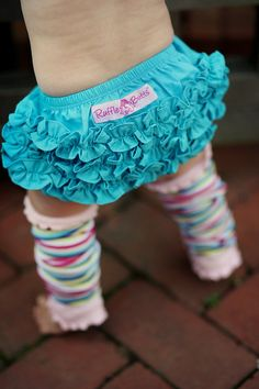 infant photos, little girls, ruffl butt, babi, baby girls, diaper covers, kid, ruffles, leg warmers