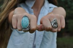I want those rings. now.