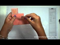 Step block card with Dawn - YouTube