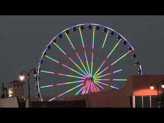 Myrtle Beach, SC Skywheel at Twilight