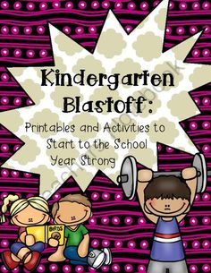School is here!!! Enter for your chance to win 1 of 2.  Kindergarten Blastoff: Printables & Activities to Start off the School Year (77 pages) from TheKinderLife on TeachersNotebook.com (Ends on on 8-22-2014)  This product is perfect for back to school! Plus, all my products are currently 50% off in my store! Don't miss out!