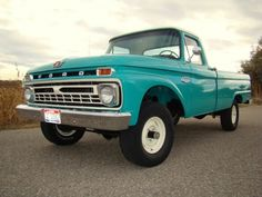 turquoise 64 ford truck - Google Search