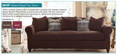 New for Summer 2014 / Restyle your home with new slipcover collections and colors.