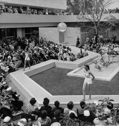 Robinson's afternoon fashion show. 1957. Beverly Hills.