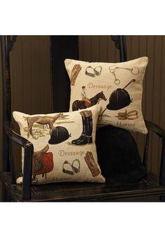 Equestrian Gear Pillows