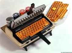 Yummy: Corona-Matic Waffle Keyboard Maker