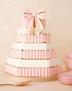 Gorgeous pink cake!