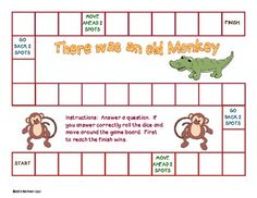 Free! There Was an Old Monkey who Swallowed a Frog game and 24 questions