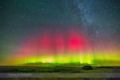 Aurora over Grasslands National Park #1