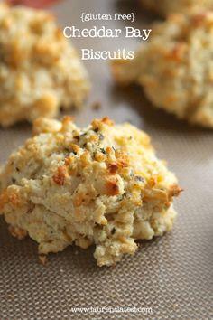 Gluten free cheddar bay biscuits | Gluten free food, recipes