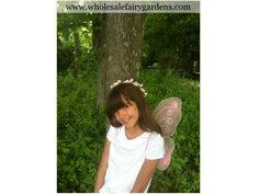 Fairy Wings & Flower Halos are a great way to make the kids feel like one of the fairies in your garden !
