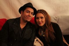 Bryan and Loren backstage at #Playoffs. #VoiceYourDreams