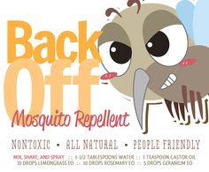 Make Your Own Mosquito RepellentSpray - Lexie's Kitchen | Gluten-Free Dairy-Free Egg-Free -