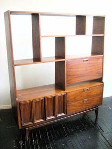 danish modern shelving unit-- love<3