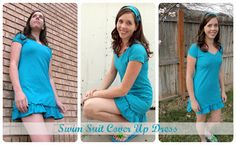 diy swimsuit cover up dress