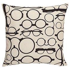 Antique Spectacles Pillow