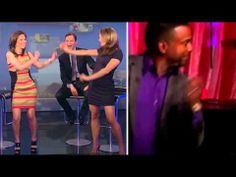 Ginger Zee & Bianna Golodryga legs & high heels dancing (5-26-13)