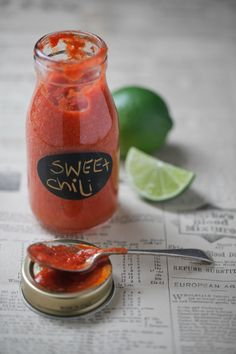 Healthy sweet chilli sauce!! Refined sugar free gluten free clean and simple!
