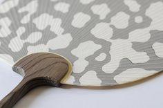 Woodblock Print Uchiwa - Taiko-seki