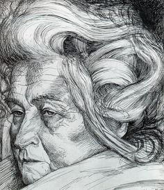 The Mother  Umberto Boccioni draw, galleries, artsi fartsi, 18821916, mothers, umberto boccioni, artist, portrait, artwork