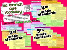 Ginger Snaps: ELA Common Core Vocabulary Grades 3-5 $12.50