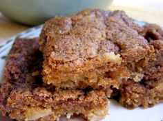 Skinny Apple Brownies. Moist and chewy blonde brownies chock full of chopped apples and walnuts. 147 calories + 4 Weight Watchers Points Plus. http://simple-nourished-living.com/2012/03/skinny-apple-brownies-recipe/