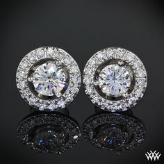 Diamond earrings Add some flair to your diamond studs with these beautiful Diamond Earring Jackets. Available for studs ranging from 0.30ctw to 1.50ctw, these add a little something extra to any look.