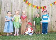 AMAZING Peter Pan Party Kids Costumes
