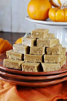Pumpkin Pie Fudge- a delicious bite of all that is Fall