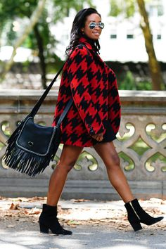 BAZAAR editors take Coach's fall coats and bags for a test drive. Shop their looks here: