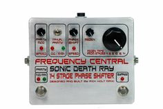 Frequency Central Sonic Death Ray Phaser