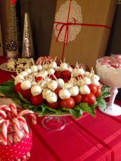 appet wreath, party appetizers, christmas parties, balls, christmas appetizers, christma appet, basil, parti idea, christma parti