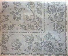 dantel masa örtüsü ve şeması
