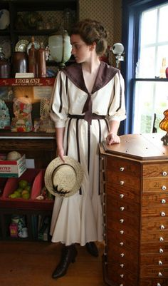 Recollections: Zell  Edwardian nautical styling  -- I love this! And majorly want it...