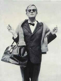 Capote as captured by Avedon