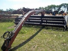 Macdon 5000 hay equipment salvaged for used parts. Call 877-530-4430. We buy salvage farm equipment. 7 salvage yards in the Midwest. http://www.TractorPartsASAP.com