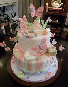 Baby cake. Baby shower cake