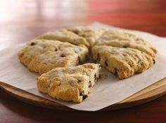 Recipe for Chocolate Chip Scones using Bisquick baking mix - if you do not have the mix use this DIY alternative http://www.pinterest.com/pin/287315651200930635