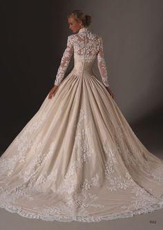 The wedding dress I originally picked out. Still stunning. Justin Alexander - 9551
