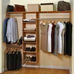 """Cedar Green 96"""" Complete Cedar Closet Kit"""