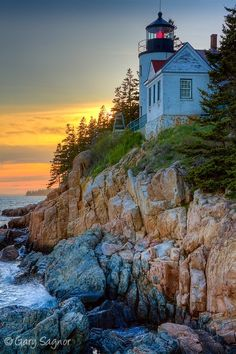 Bass Harbor Head Light, Acadia National Park - Photograph at BetterPhoto.com
