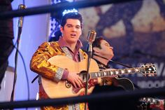 Million Dollar Quartet cast performs for Times Square
